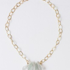 """Leslie Curtis Jewelry Designs Cacey - Bright Gold 18"""""""