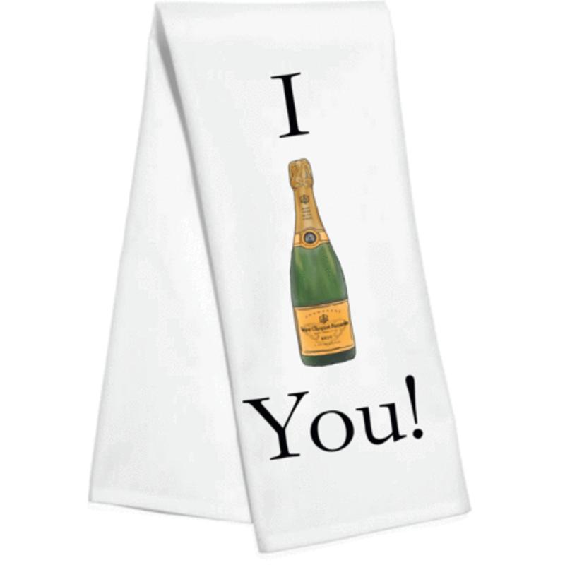 Toss Designs I VEUVE You Kitchen Towel