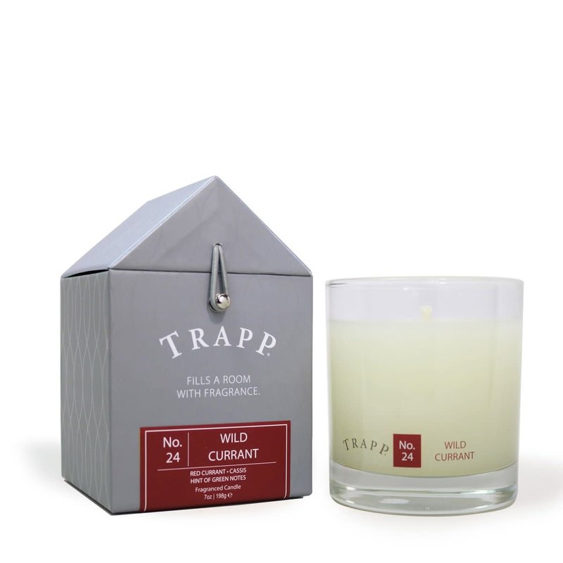 TRAPP Wild Currant #24 Candle 7 oz.