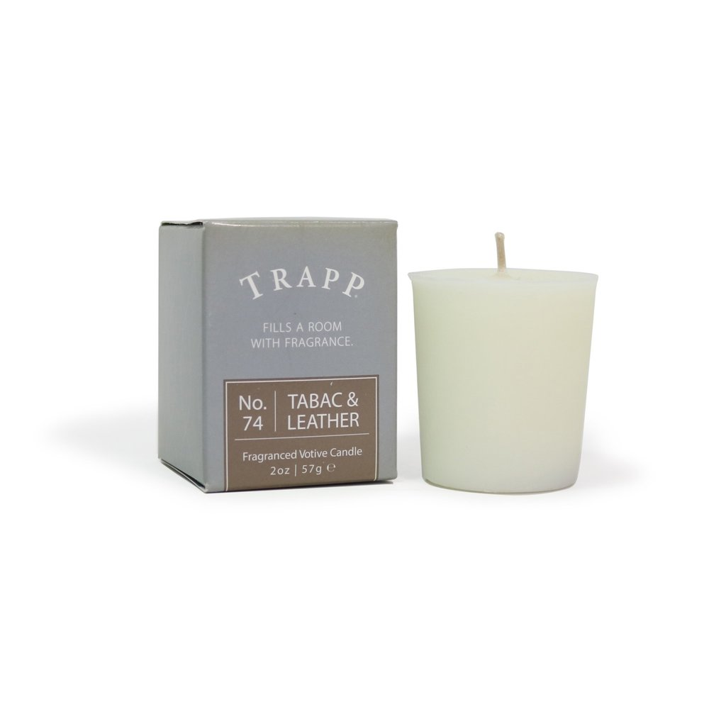 TRAPP TABAC & Leather #74 Votives