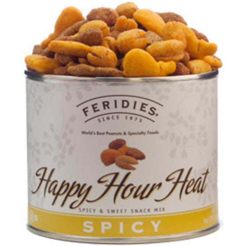 Feridies Happy Hour Heat Snack Mix, 9oz. can