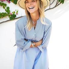MerSea Essential Shirt Dress Blue/White Stripe, S/M