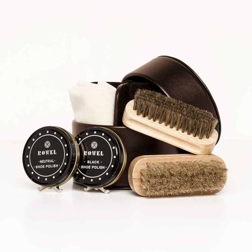 Brouk Shoe Shine Kit (Brown)