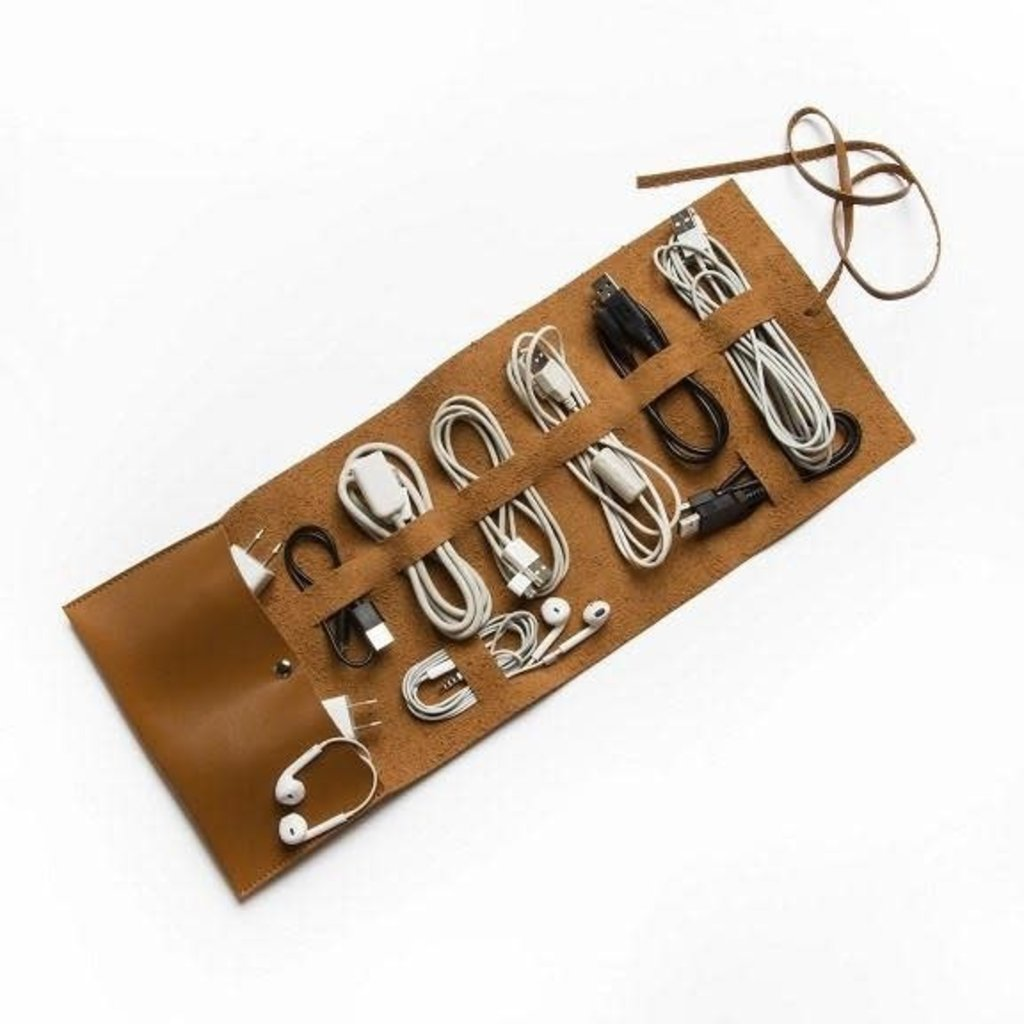 Brouk Travel Cord Roll (Brown)