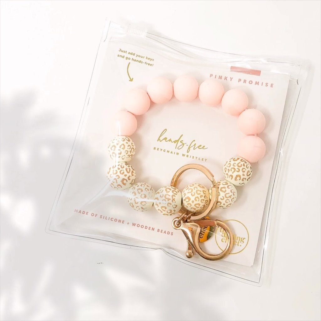 the darling effect Pinky Promise Hands-Free Keychain Wristlet