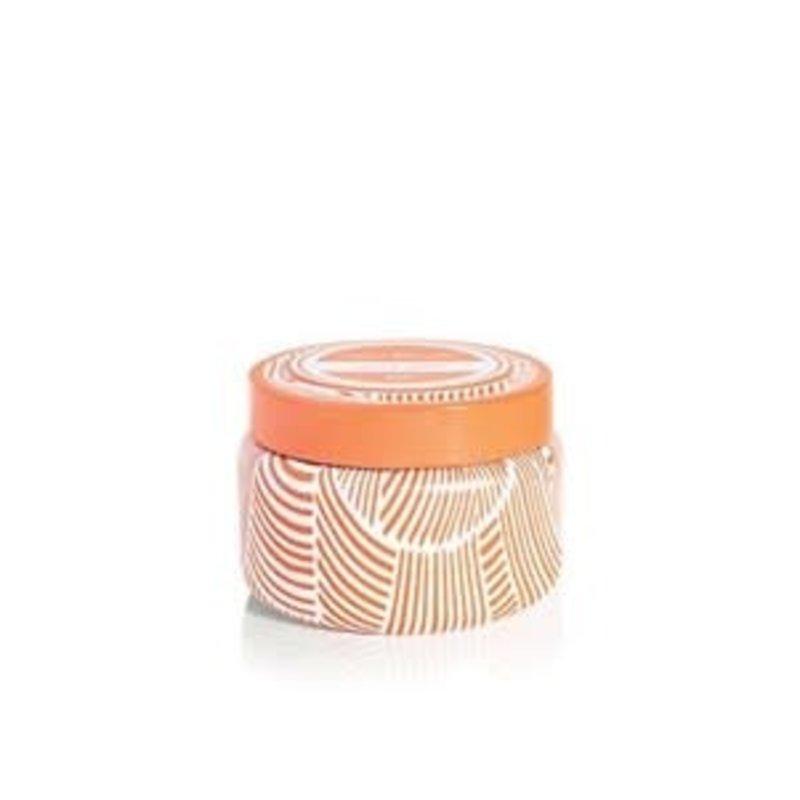 CURIO Volcano Tangerine Printed Travel Tin