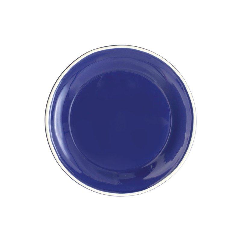 Vietri Chroma Blue Salad Plate
