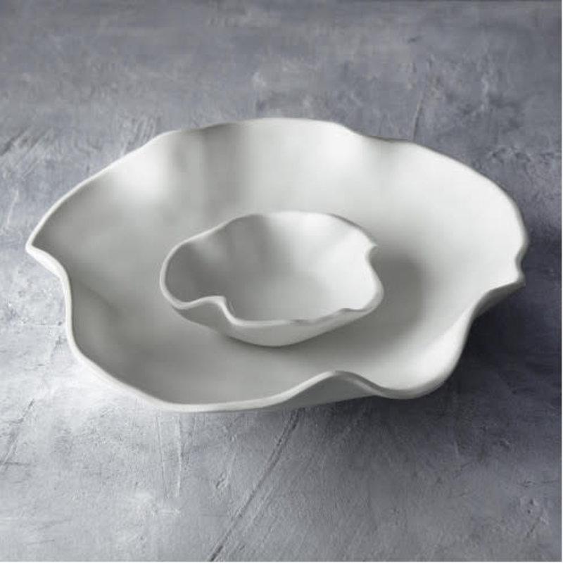 Beatriz Ball Vida Nube bowl with dip white