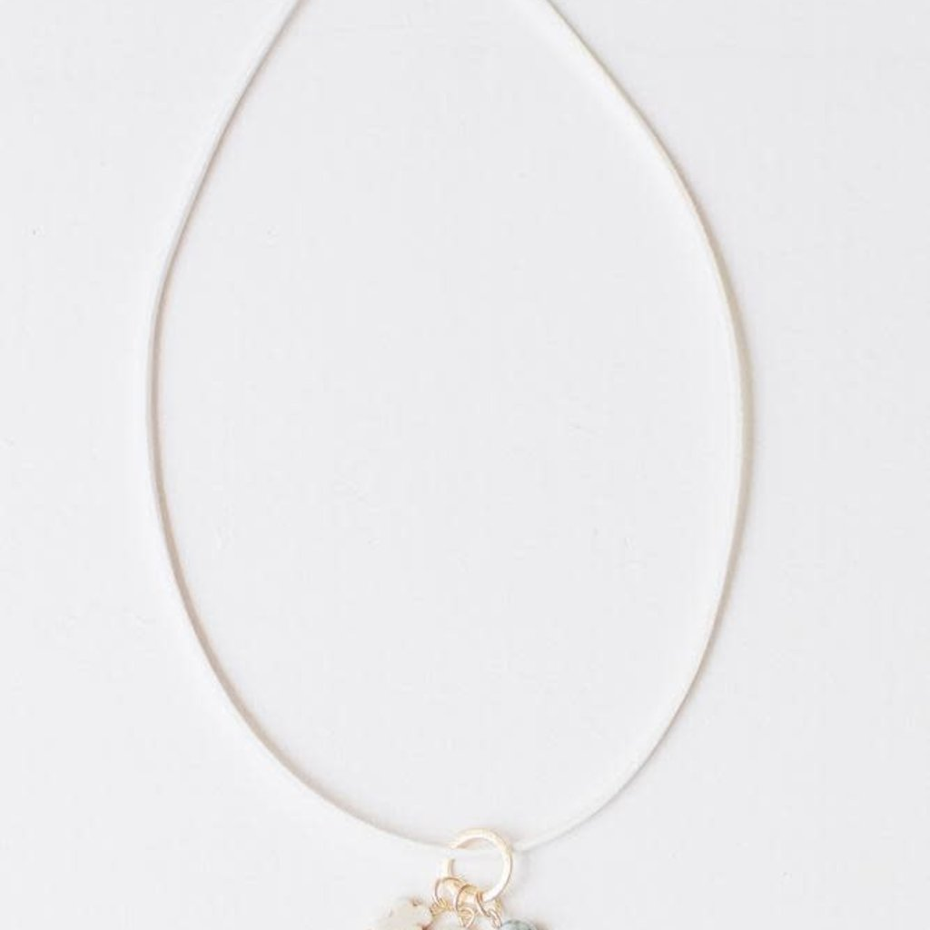 Leslie Curtis Jewelry Designs Evelyn - Sand Necklace