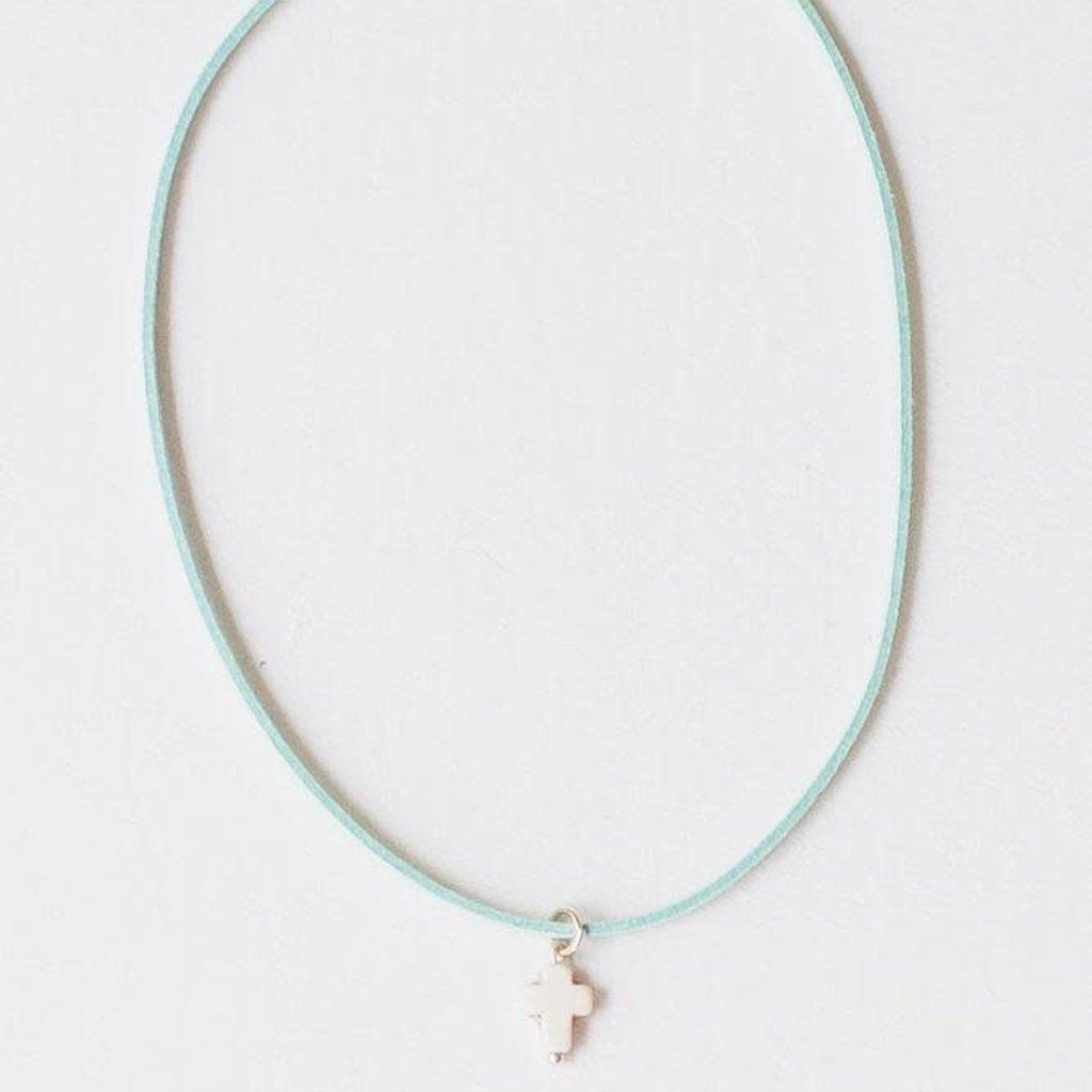 Leslie Curtis Jewelry Designs Morgan Aqua Necklace