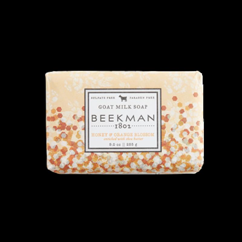 Beekman 1802 Inc Honey & Orange Blossom Soap,  9oz