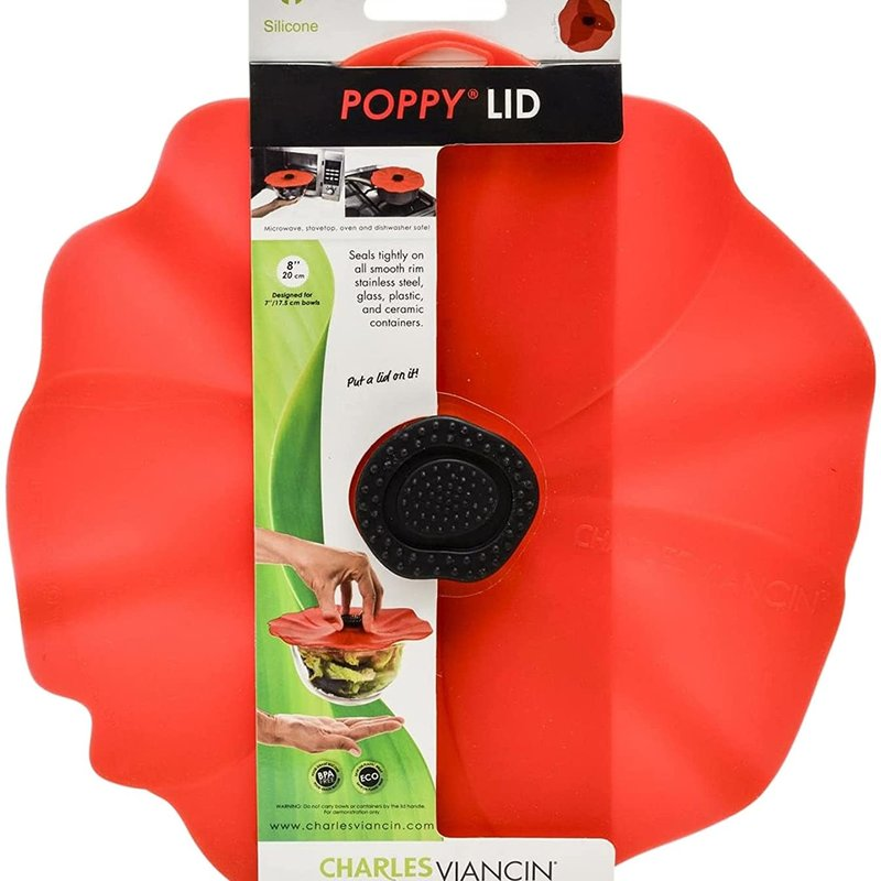 "Charles Viancin Charles Viancin Poppy Lid 13"" (Red)"
