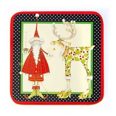 Patience Brewster DASH AWAY CORK BACK COASTERS - SET OF 4
