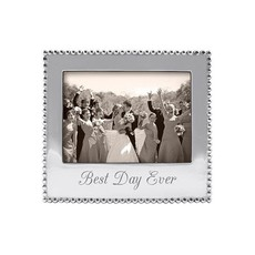 Mariposa Best Day Ever Beaded 5 X 7 Frame
