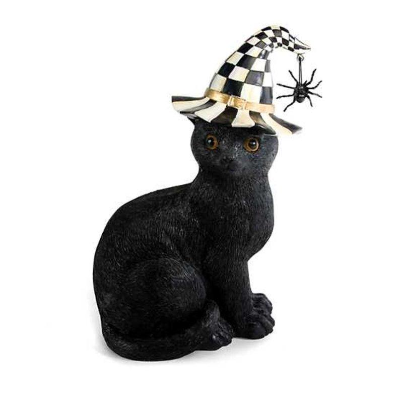 Mackenzie-Childs Black Cat