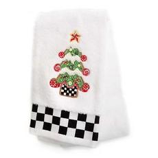 Mackenzie-Childs Gingerbread Tree Hand Towel