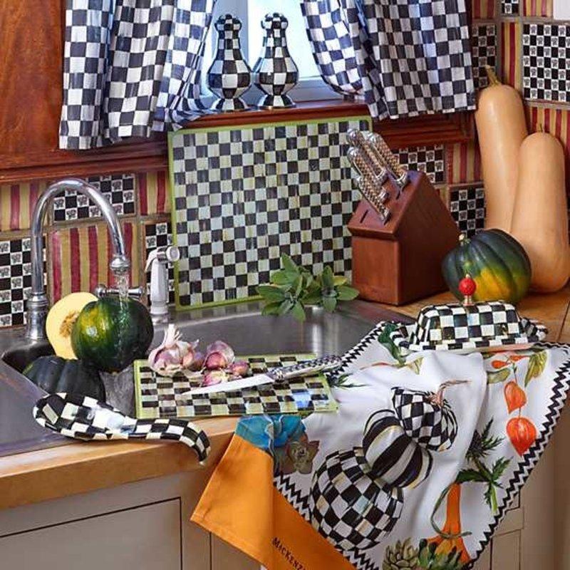 Mackenzie-Childs Autumn Naturals DIsh Towel