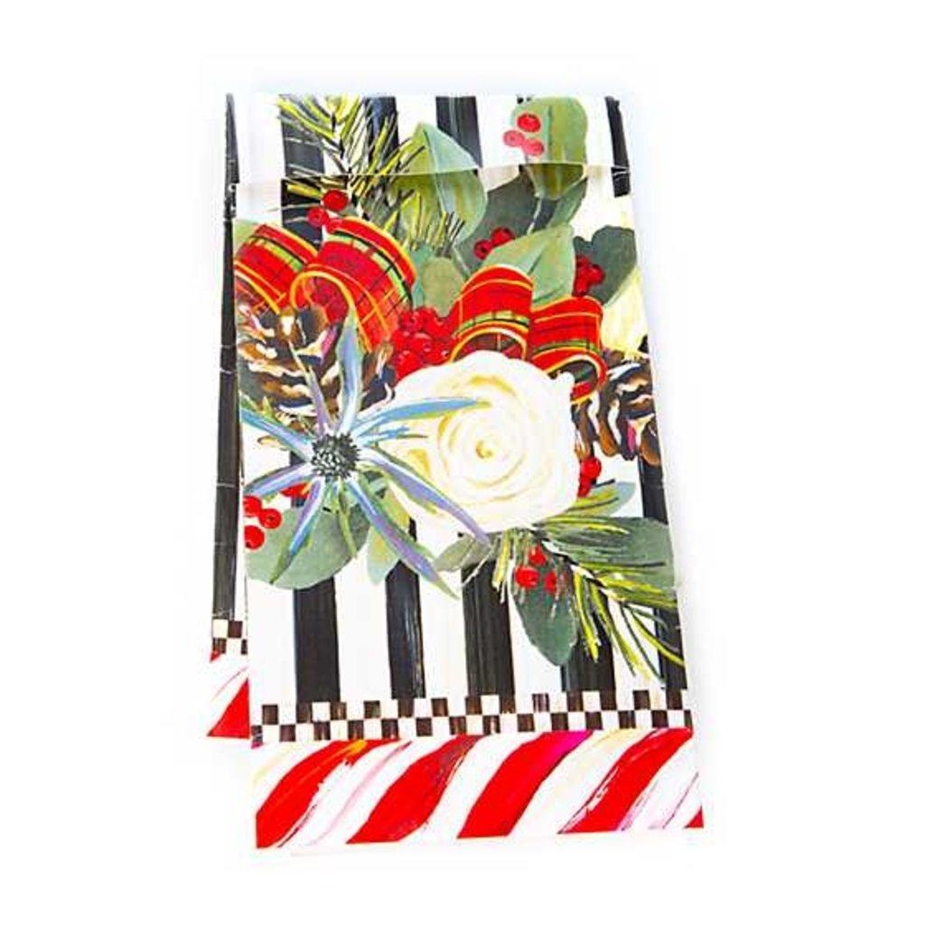 Mackenzie-Childs Scottish Bouquet Paper Guest Napkins