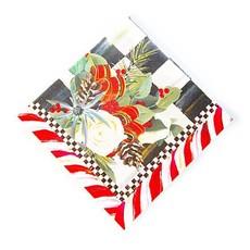 Mackenzie-Childs Scottish Bouquet Paper Cocktail Napkins