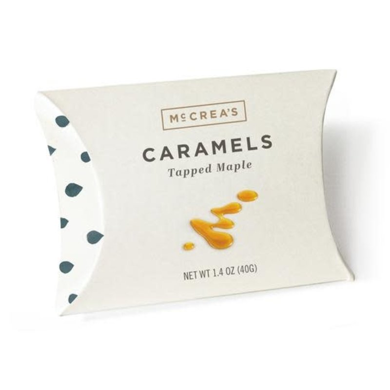 McCrea's Candies Tapped Maple Caramels, 1.4 ounce pillow