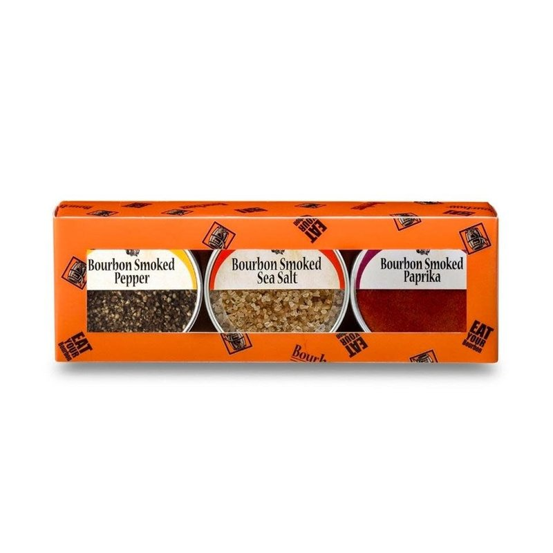 Bourbon Barrel Foods Bourbon Smoked Spice 3-Pack Gift Set