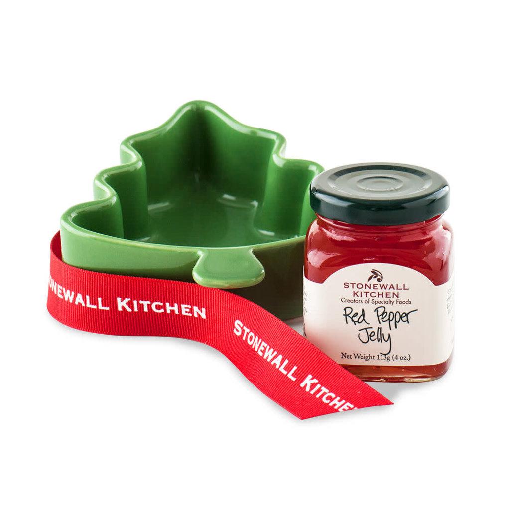 Stonewall Kitchen Red Pepper Jelly Ramekin Tree - Seasonal