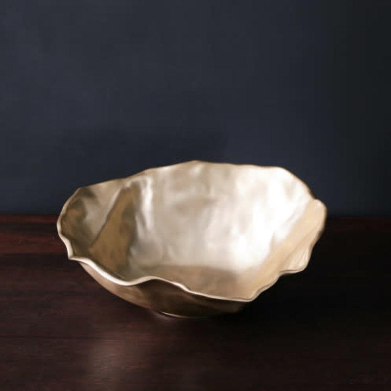Beatriz Ball SIERRA MODERN Maia Large Bowl (Gold)