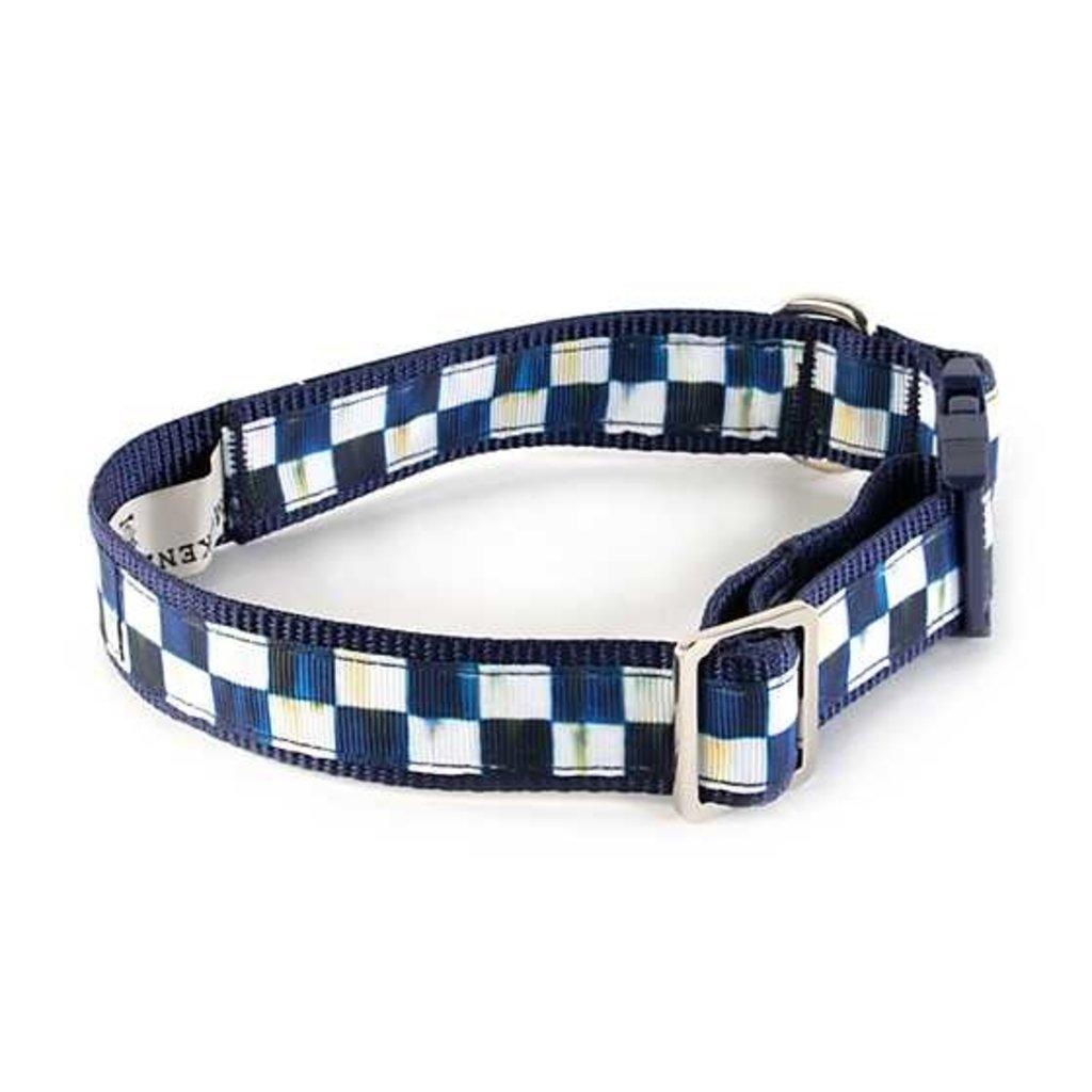 Mackenzie-Childs Royal Check Pet Collar - Medium