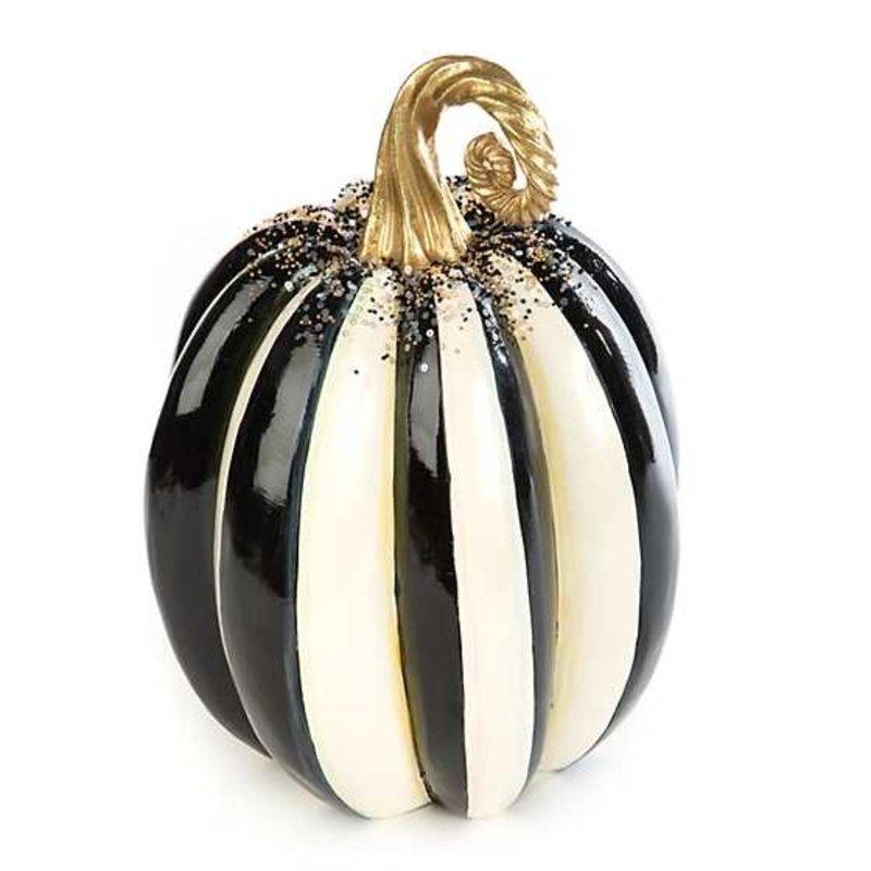 Mackenzie-Childs Beaded Stripe Pumpkin - Medium