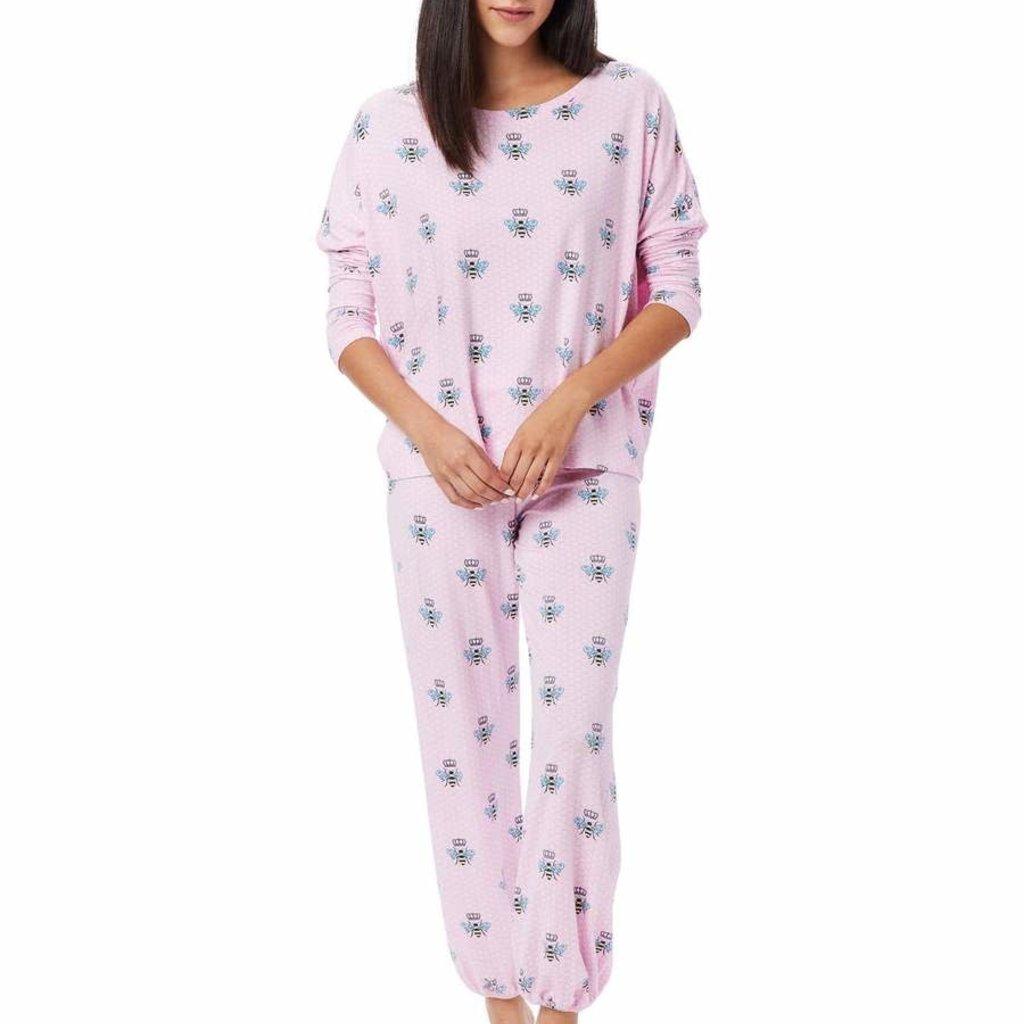 The Cat's Pajamas Pima Knit Pullover Set