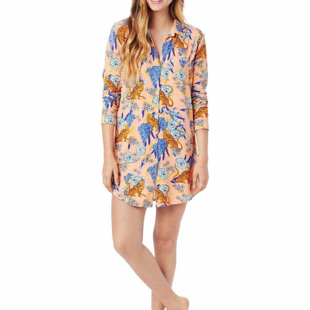 The Cat's Pajamas Pima Knit Night Shirt