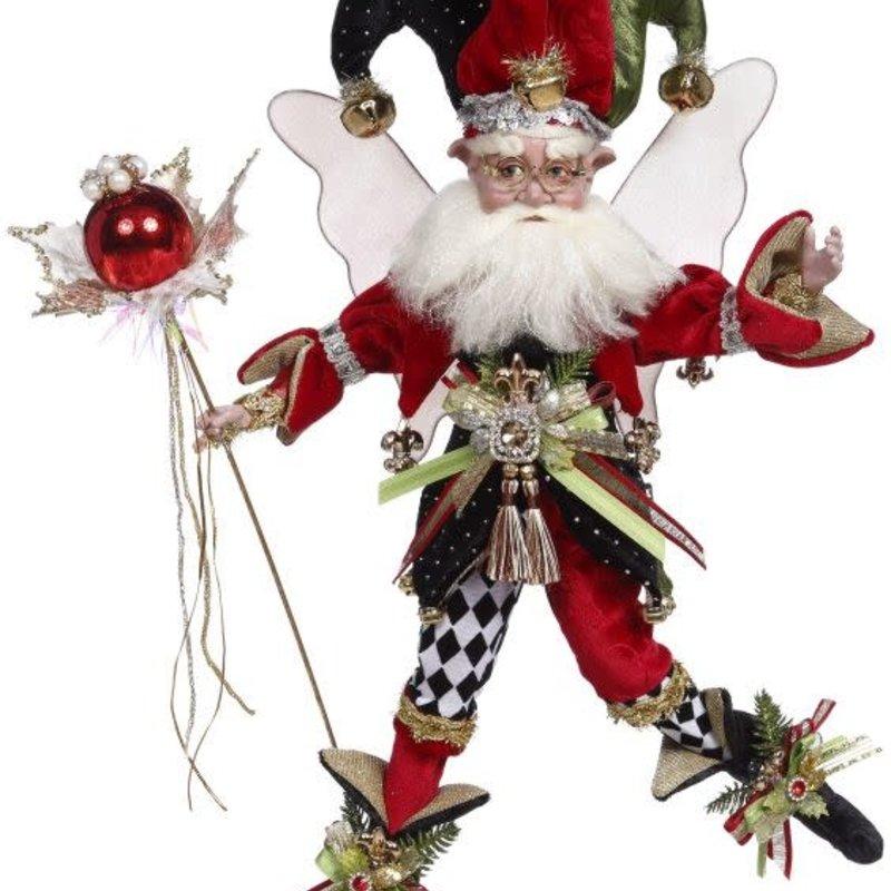 "Mark Roberts Harlequin Jester Fairy, M17"""