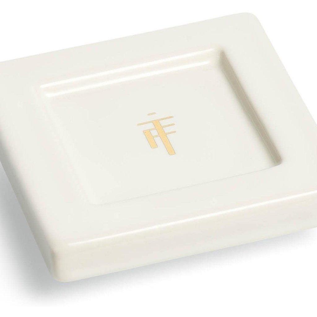 tea forte Tea Tray Bone White