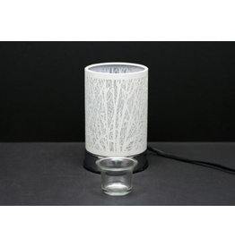 TCE Touch Lamp White Forest