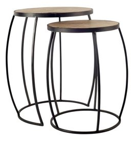 TCE Port Sydney Side Tables (Set of 2)