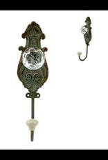 TCE Vintage Grey Iron Doorknob