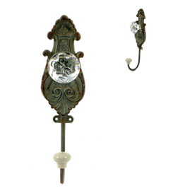 TCE Vintage Grey Iron Doorknob