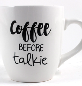 TCE Mug - Coffee Before Talkie