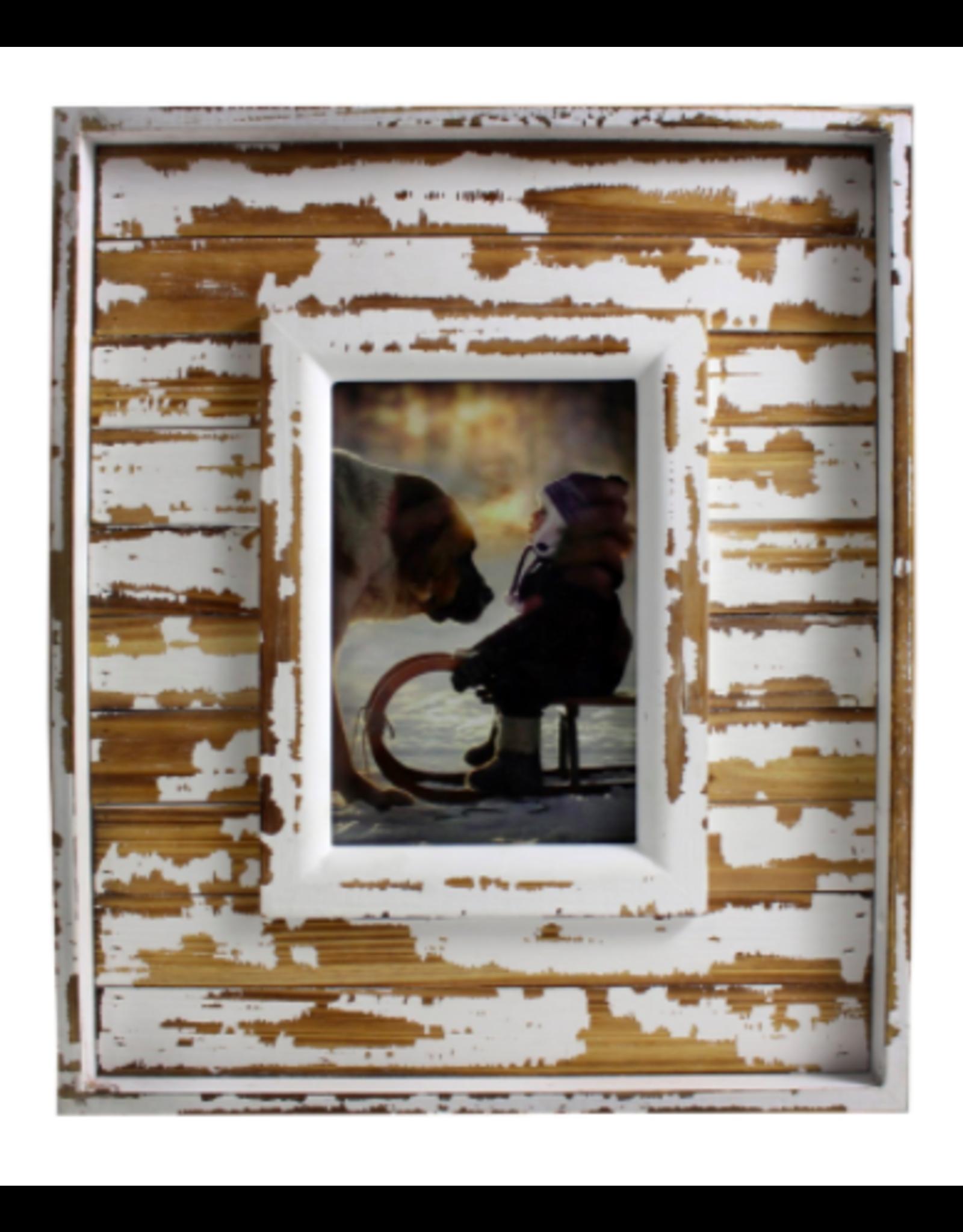 TCE 4x6 Rustic Wood Frame