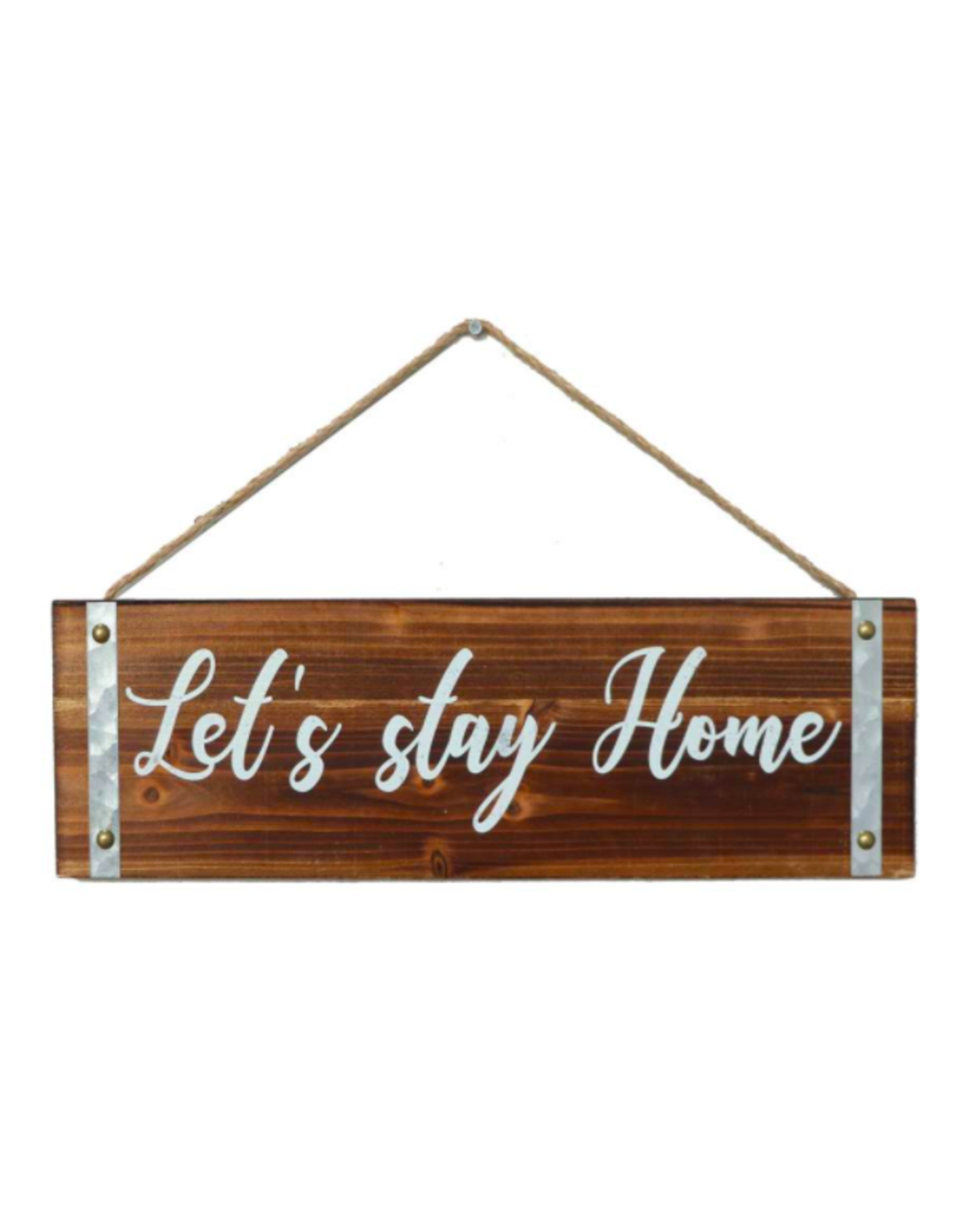 TCE Sign - Let's Stay Home