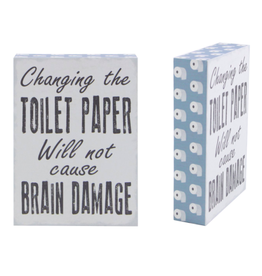 TCE Toilet Paper/Brain Damage