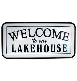 TCE Welcome/Lakehouse Metal Sign