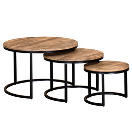 TCE Rain Lake Coffee Table (Set of 3)