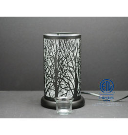 TCE Touch Lamp Silver Forest 9.5""