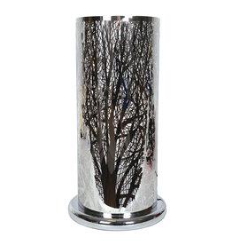 """TCE Touch Lamp Silver Forest 19"""""""