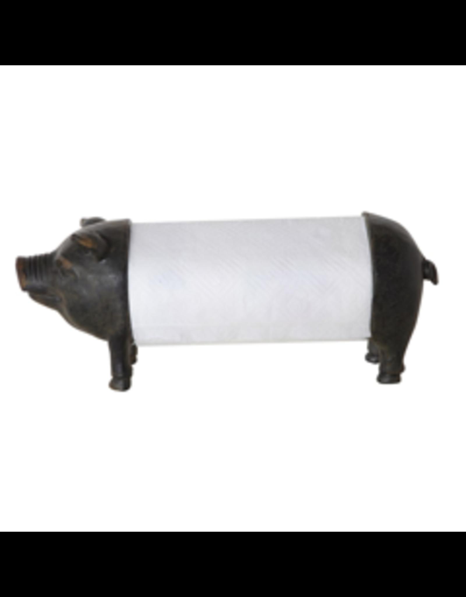 TCE Pig Paper Towel Holder