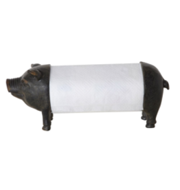 TCE Pig Paper Towel Holder
