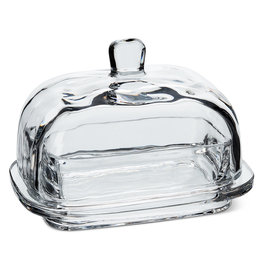 "TCE Covered Butter Dish-7""L"