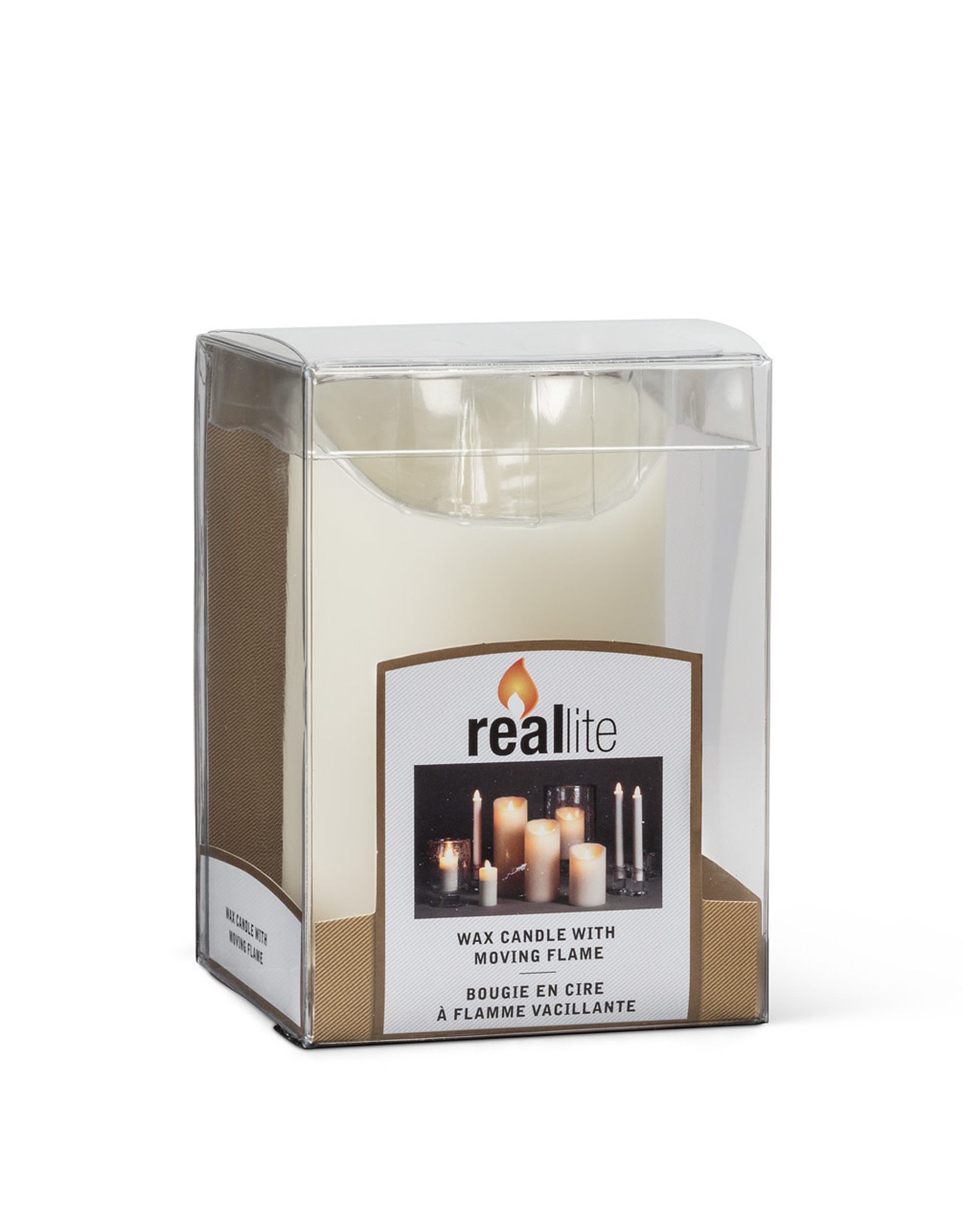 TCE Ivory Flameless Candle Small