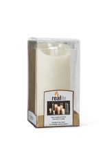 TCE Ivory Flameless Candle Medium
